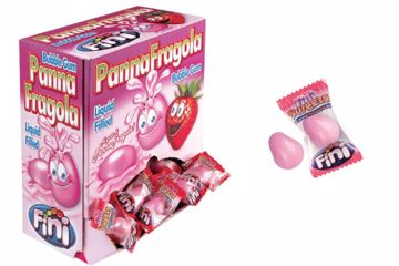 Immagine di FIN CHICLE PANNA/FRAGOLA S/G BOX PZ.200