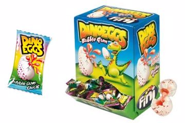 Immagine di FIN CHICLE DINO EGGS BOX S/G PZ200