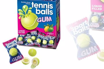 Immagine di FIN CHICLE TENNIS BALL S/G BOX PZ. 200