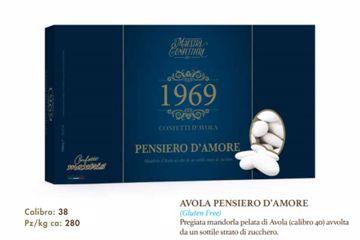 Immagine di ITA CONFETTI PENSIERO D'AMORE BIANCHI S/G KG. 1