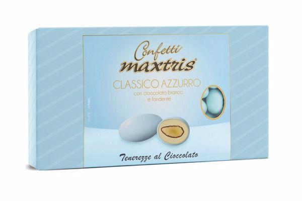 Immagine di ITA CONFETTI MAXTRIS CLASSICO CELESTE S/G KG. 1