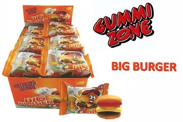 Immagine di MNA GUMMI ZONE BIG BURGER S/G PZ.18