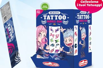 Immagine di CDD CHICLE MAXI TATTOO BOX S/G 200PZ