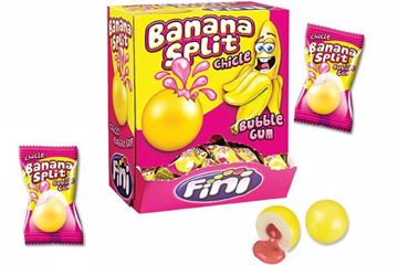 Immagine di FIN CHICLE BANANA SPLIT BOX S/G PZ.200