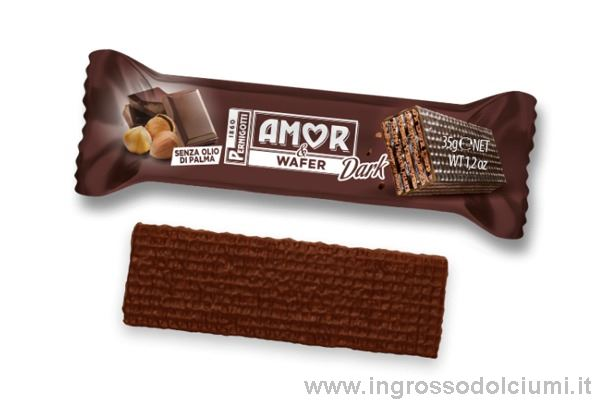 Immagine di PNG AMOR E WAFER DARK PZ.24X35G