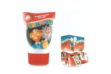 Immagine di BON TUBETTO BUBBLE GUM FRAGOLA GR.35X30