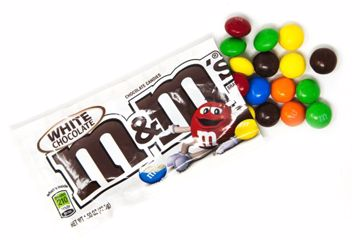 Immagine di DAV M&M'S WHITE CHOCOLATE 42,5G PZ.24