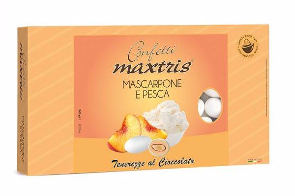 Immagine di ITA CONFETTI MAXTRIS MASCARPONE E PESCA S/G KG.1