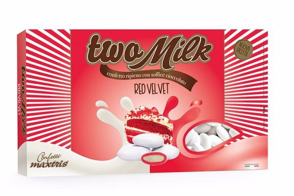Immagine di ITA CONFETTI TWO MILK RED VELVET S/G KG.1