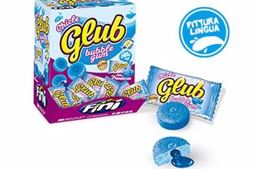Immagine di FIN CHICLE BOX GLUB LAMPONE S/G PZ.200