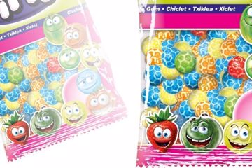 Immagine di FIN CHICLE FOOTBALL MULTICOLOR KG1
