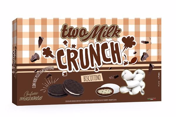 Immagine di ITA CONFETTI TWO MILK CRUNCH BISCOTTINO KG.1