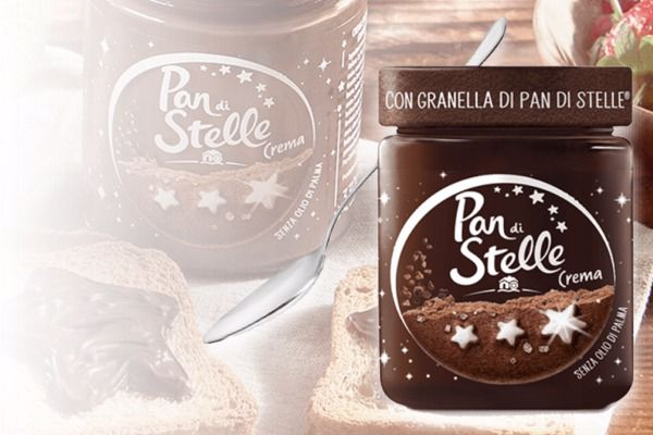 Immagine di BAR CREMA SPALMABILE PAN DI STELLE GR330