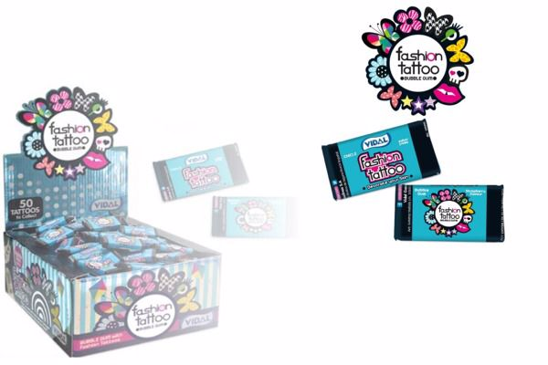 Immagine di VID CHICLE FASHION TATTOO PZ200