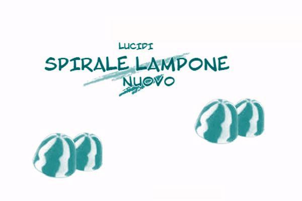 Immagine di DUL DAMEL BACIO SPIRALE LAMPONE (BLU/VERDE ACQUA) S/G  KG.1