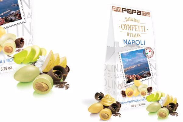 Immagine di DOL CONFETTI D'ITALIA NAPOLI (crema/ricottapera) S/G GR150