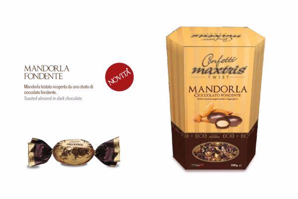 Immagine di ITA MANDORLA CIOCC. FONDENTE TWIST BOX S/G GR200