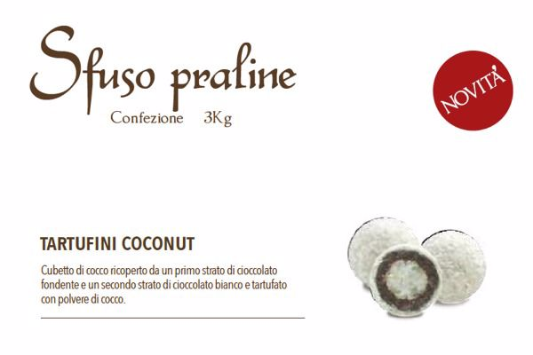 Immagine di ITA TARTUFINI COCCO NUT BAKERY S/G GR3000