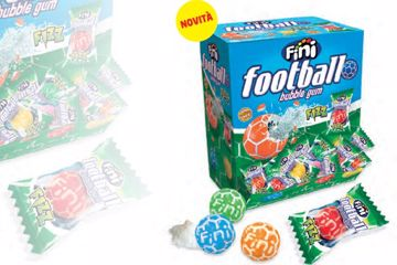 Immagine di FIN CHICLE FOOTBALL MULTICOLOR FIZZ S/G PZ.200