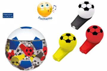 Immagine di ROS FISCHIETTI FOOTBALL C/CANDY GR.3 PZ.50