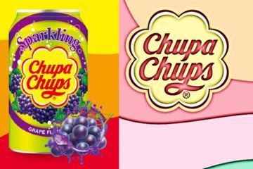 Immagine di USA CHUPA CHUPS DRINK UVA FRAGOLA ML345