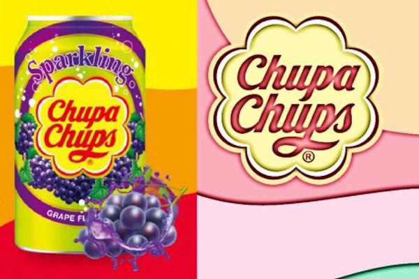 Immagine di USA CHUPA CHUPS DRINK UVA FRAGOLA ML345