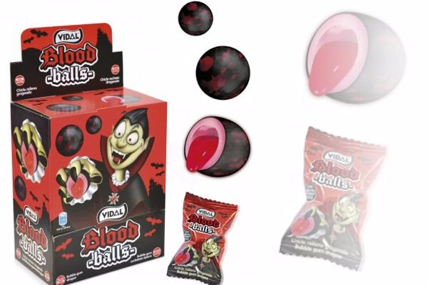 Immagine di VID CHICLE BOX BLOOD BALLS BOX S/G 200U