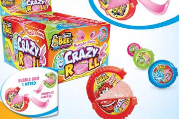 Immagine di JOY BUBBLE GUM CRAZY ROLL PZ24