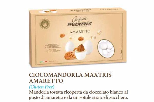 Immagine di ITA CONFETTI MAXTRIS AMARETTO S/G KG. 1