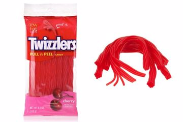 Immagine di USA TWIZZLERS CHERRY PULL N PEEL BAG 172GR