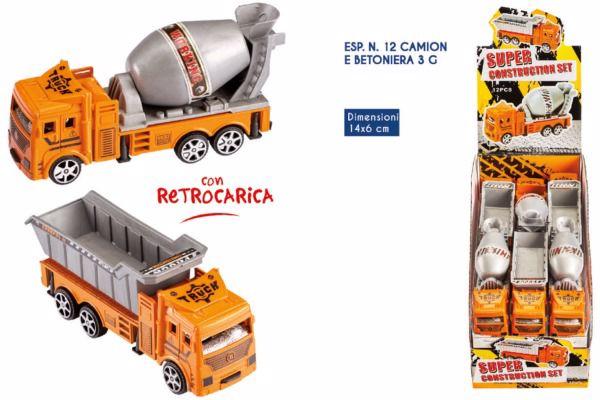 Immagine di ROS CAMION C/BETONIERA 3GR X 12