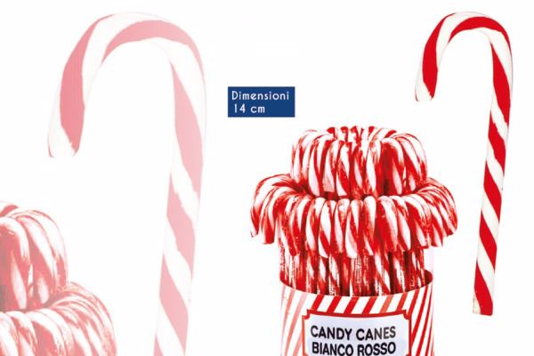 Immagine di ROS CANDY CANES B/ROSSO GR14X50 (sped. non ass.)
