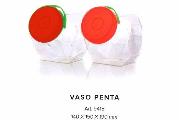 Immagine di NIA CONTENITORE PENTA TAPPO E MANICO ROSSO PZ.1