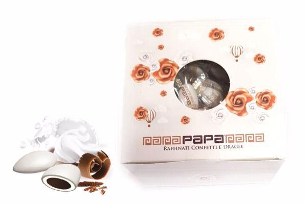 Immagine di PAP BOX CONFETTO DOUBLE BIANCO MONODOSE S/G GR500